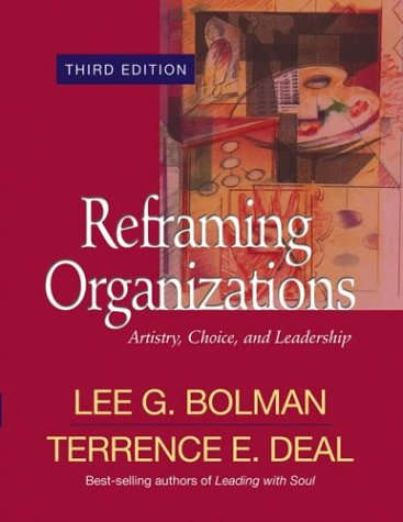 bolman and deal reframing organizations