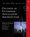 Martin Fowler. Patterns of Enterprise Application Architecture